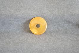 Orangencalcit-Donut 3,5 cm