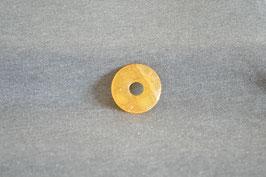 Orangencalcit-Donut 3 cm