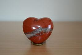 Jaspis rot-Herz - 4,5 cm