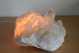 Bergkristall-Stufen-Sprudelstein