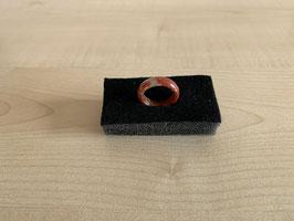 Jaspis rot -Fingerring