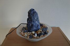 Zimmerbrunnen mit Sodalith-Quellstein