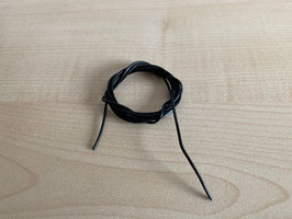 Lederband, Standart, schwarz - 1,4 mm