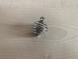 Metall-Spiral-Anhänger für Edelsteine mini
