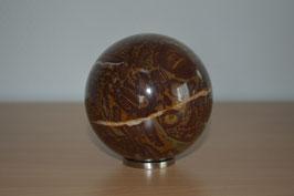 Edelstein-Kugel Leoparden-Jaspis, 8 cm