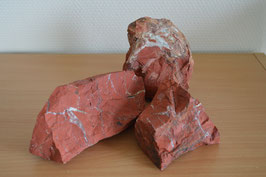 Jaspis-Brocken rot, gross - 2,5 kg