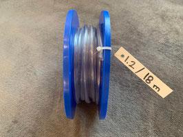 PVC-Schlauch, 6 x 9 mm - Rolle 1.2 mit 18 Meter