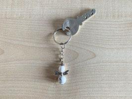 Magnesit-Engel-Schlüsselanhänger, Flügeltyp 6