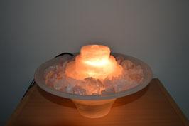 Zimmerbrunnen mit Rosenquarz-Kaskade