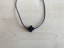 Lava-Kreuz-Anhänger, Quadrat