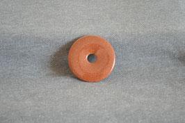 Goldfluss-Donut braun 4 cm