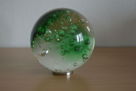 Glaskugel 10 cm, grün, kalibriert