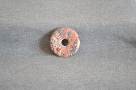 Leopardenfell-Jaspis-Donut 3,5 cm