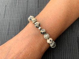 Dalmatiner-Jaspis-Armband
