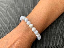 Chalcedon blau-Armband - 2