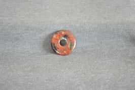 Brekzien-Jaspis-Donut 3 cm