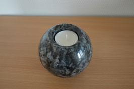 Granit-Kugel mit Teelicht - 3