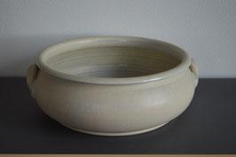 Keramik-Schale 30 cm, beige