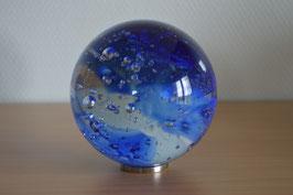 Glaskugel 10 cm, blau, kalibriert