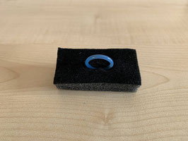 Achat blau-Fingerring