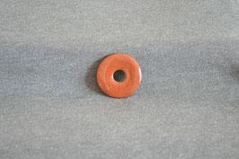Goldfluss-Donut braun 3 cm
