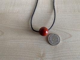 Jaspis rot-Kugel 1,6 cm, gebohrt