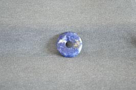 Sodalith-Donut 3 cm