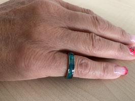 Paua-Muschel-Ring Grösse 6