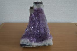 Amethyst-Druse/Geode (Bruchstück) - 7