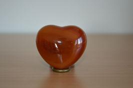 Carneol-Herz - 4,5 cm