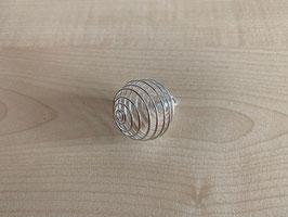 Metall-Spiral-Anhänger für Edelsteine klein