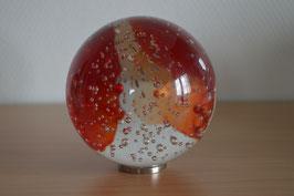 Glaskugel 10 cm, rot, kalibriert
