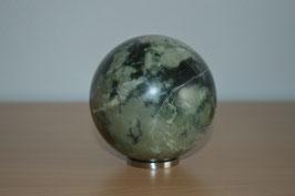 Edelstein-Kugel Smaragd, 8 cm