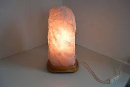 Rosenquarz-Lampe, gross