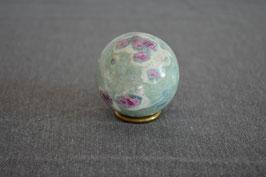 Rubin-Fuchsit-Kugel, 4,7 cm