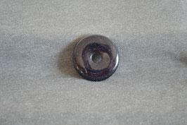 Goldfluss-Donut violett 4 cm