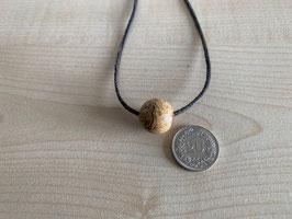Landschafts-Jaspis-Kugel 1,6 cm, gebohrt