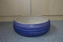 Zimmerbrunnen-Schale 35 cm, azurblau