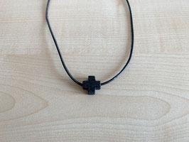 Prasem-Kreuz-Anhänger, Quadrat