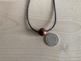 Jaspis rot-Kugel 1,2 cm, gebohrt