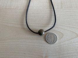 Rhyolith-Kugel 1 cm, gebohrt