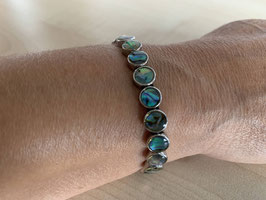 Paua-Muschel-Armkette
