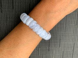 Chalcedon blau-Armband - 1