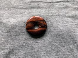 Tigerauge-Donut rot 4 cm