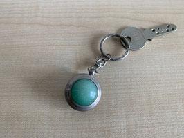 Aventurin-Kugel-Schlüsselanhänger