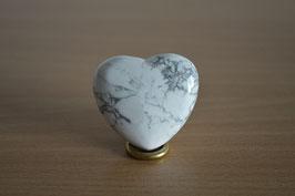 Magnesit-Herz - 4 cm