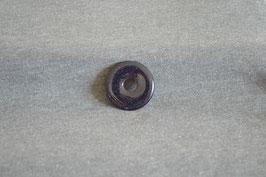 Goldfluss-Donut violett 3 cm
