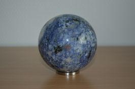 Edelstein-Kugel Sodalith, 8 cm