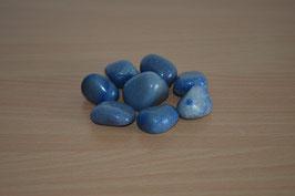 Blauquarz-Trommelsteine