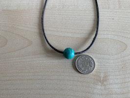 Amazonit-Kugel 1,2 cm, gebohrt